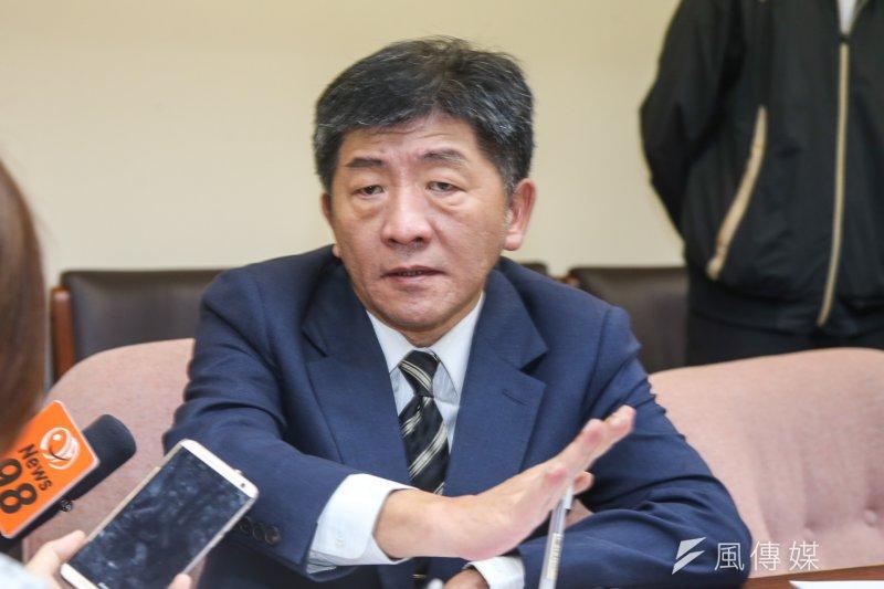 衛生福利部長陳時中(資料照.陳明仁攝)