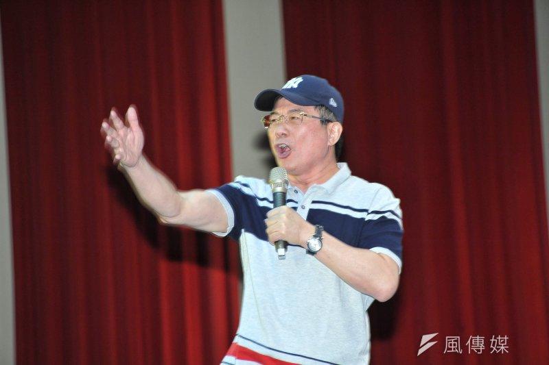 國民黨政策委員會執行長蔡正元,6月底就會離開國民黨,並將擔任中資敏安汽車的董事長。(資料照,甘岱民攝)