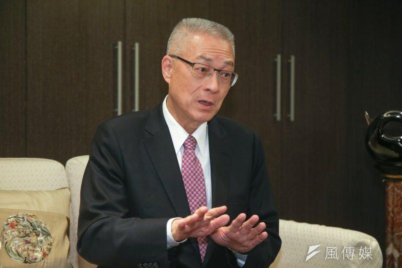 當選國民黨主席的吳敦義如何對應北京?(陳明仁攝)