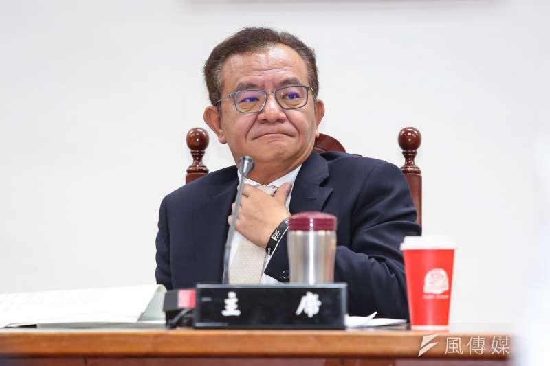 20170524-民進黨立委高志鵬24日主持經濟委員會。(顏麟宇攝)