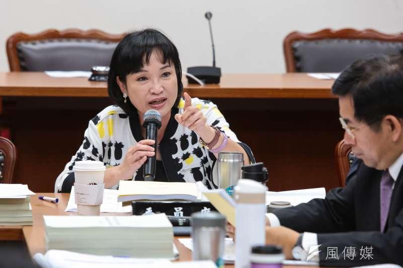 20170525-國民黨立委柯志恩25日主持教育委員會。(顏麟宇攝)