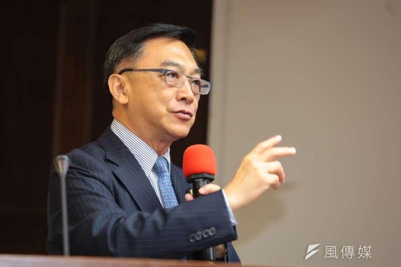 20170525-國民黨立委陳宜民25日於衛環委員會質詢。(顏麟宇攝)