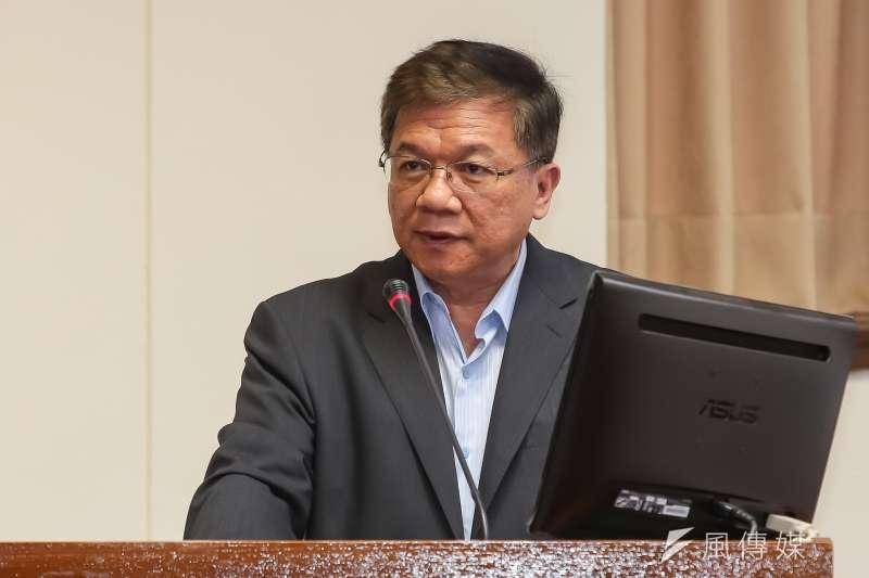 20170525-經濟部長李世光25日出席經濟委員會備詢。(顏麟宇攝)