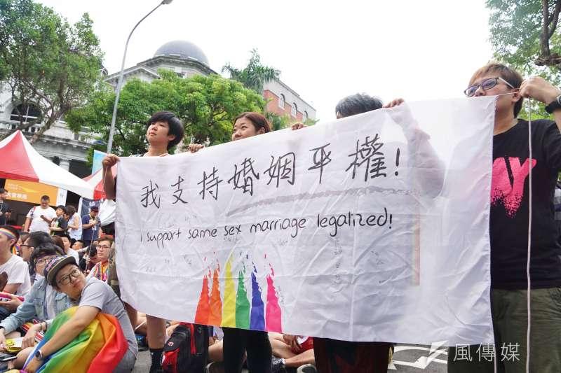 台北市政府將舉辦2017台北市同志公民活動「有志藝同看見愛」,希望透過藝術與文化帶領民眾去看見同志、認識同志,歡迎市民踴躍參與。(資料照,盧逸峰攝)