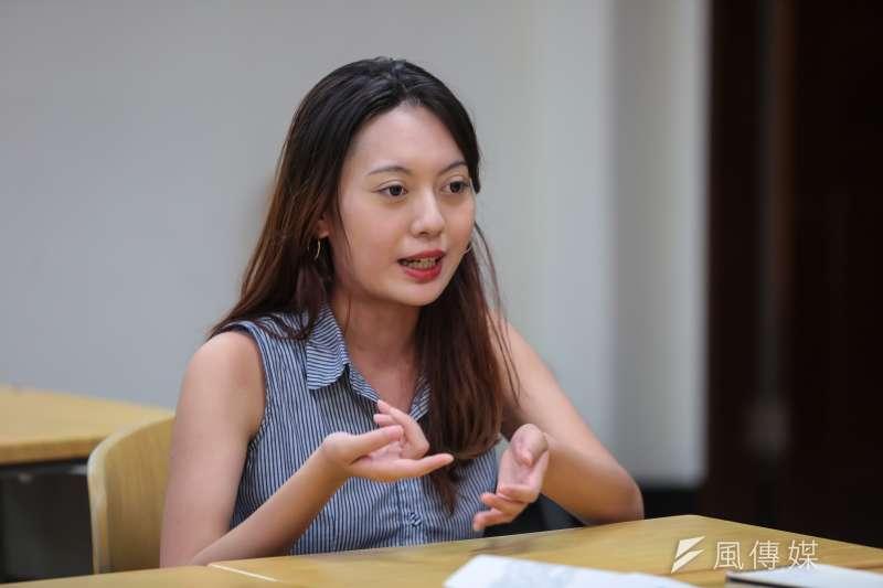 20170525-跨性別專題,台大學生專訪,台大學生會新聞部方綺副部長。(顏麟宇攝)