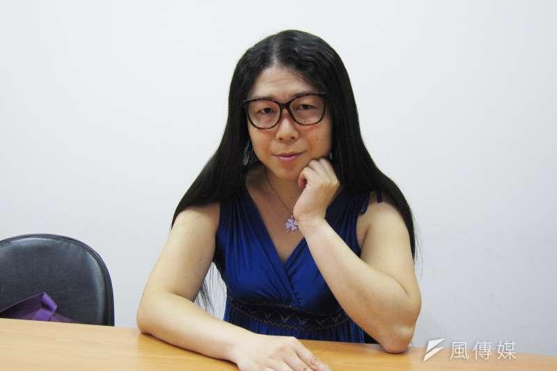 20170527-(天如專題)台灣性別不明關懷協會秘書長葉若瑛。(黃天如攝)