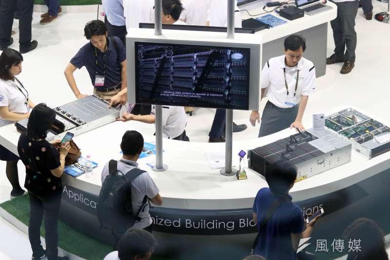 這波景氣擴張主要由出口扮演主力,圖為台北國際電腦展。(資料照片,蘇仲泓攝)