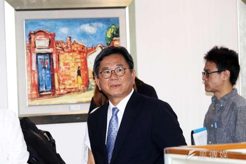 20170531-民進黨下午召開中執會,立法委員陳明文出席。(蘇仲泓攝)