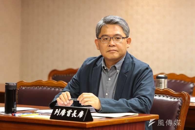20170531-內政部次長花敬群31日出席立院內政委員會。(顏麟宇攝)