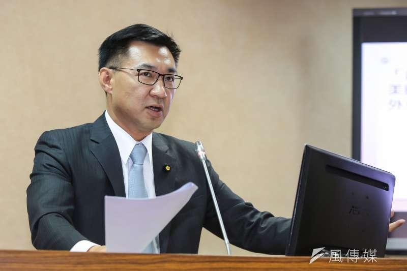 國民黨立委江啟臣是否參選台中市長,將於11月底截止。(資料照片,顏麟宇攝)