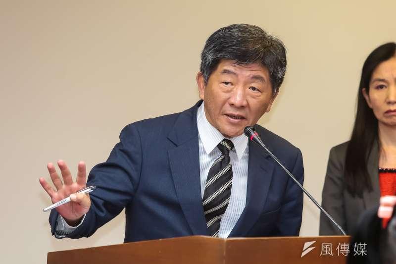 衛福部長陳時中31日表示,明年初將在地方政府和長照機構間建立預付制度,減輕長照團體的財務負擔。(資料照,顏麟宇攝)