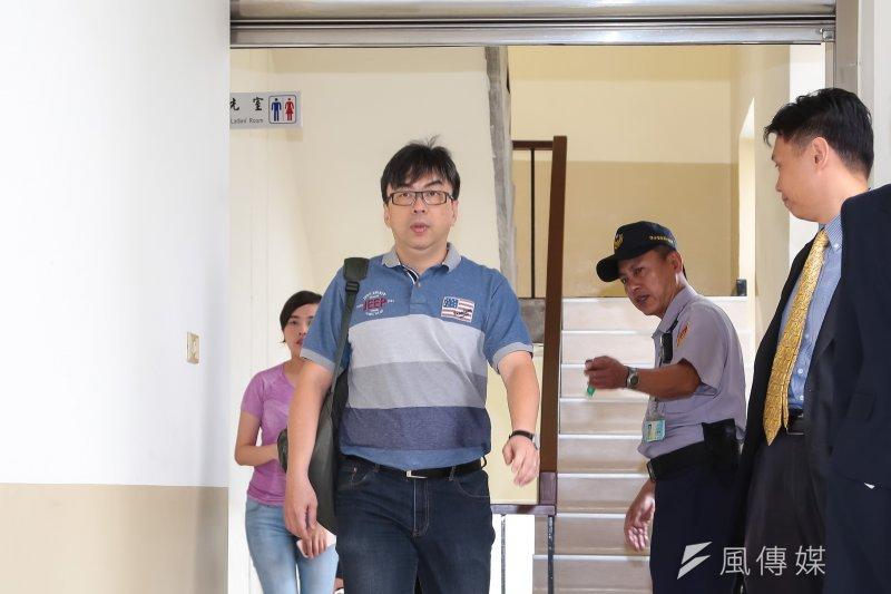 民進黨立委段宜康31日出席司法法制委員會婚姻平權協商。(顏麟宇攝)