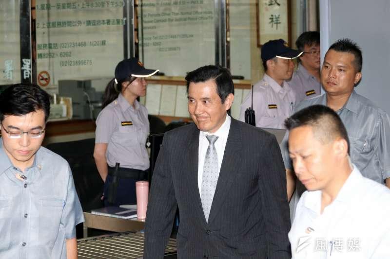 前總統馬英九4日為洩密案出庭,重申自己無罪,籲法官維持一審判決。(資料照,蘇仲泓攝)