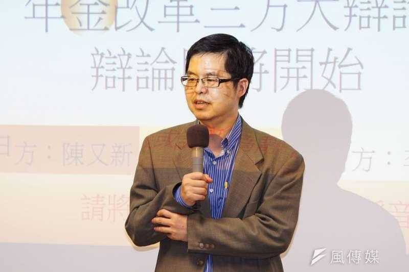 20170604-年金大辯論,郝充仁出席與會。(盧逸峰攝)