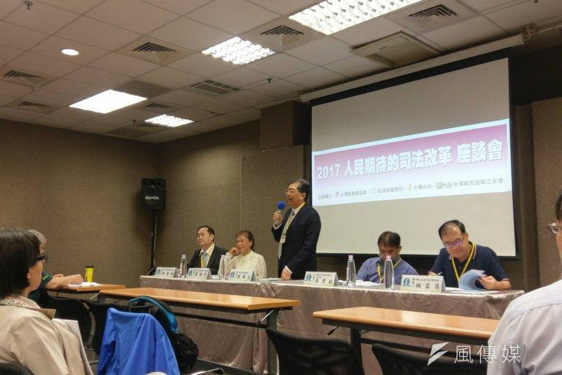 2017-06-04-台灣陪審團協會舉辦「人民期待的司法改革座談會」-陳俐穎攝