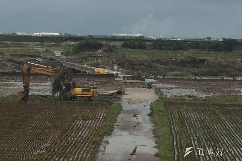 農委會3日表示7月29、30日受雙颱影響,全國農林漁牧業產物及民間設施估計損失新台幣4億8080萬元。(資料照,賴元煌攝)