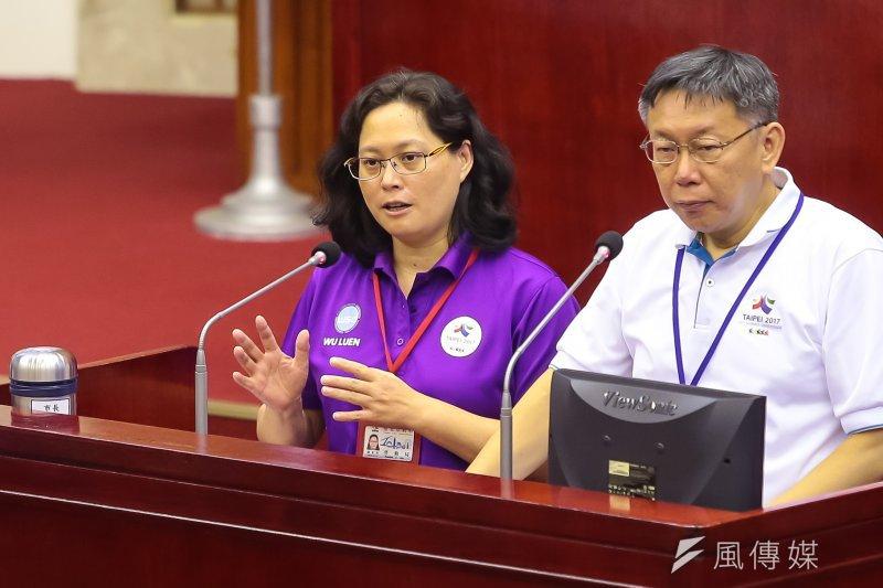 台北市勞動局長賴香伶表示,《蘋果日報》如果有人力裁減的情況,應依法處理,而不是轉換僱傭關係後,再設立創業誘因。(資料照,顏麟宇攝)