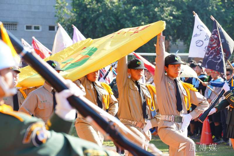 新竹高中校慶運動會。(盧逸峰攝)
