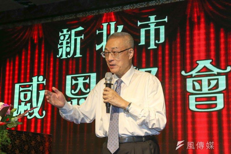 準國民黨主席吳敦義今(8)日表示,中央委員的提名,要由他就任後才可能公告。(陳明仁攝)