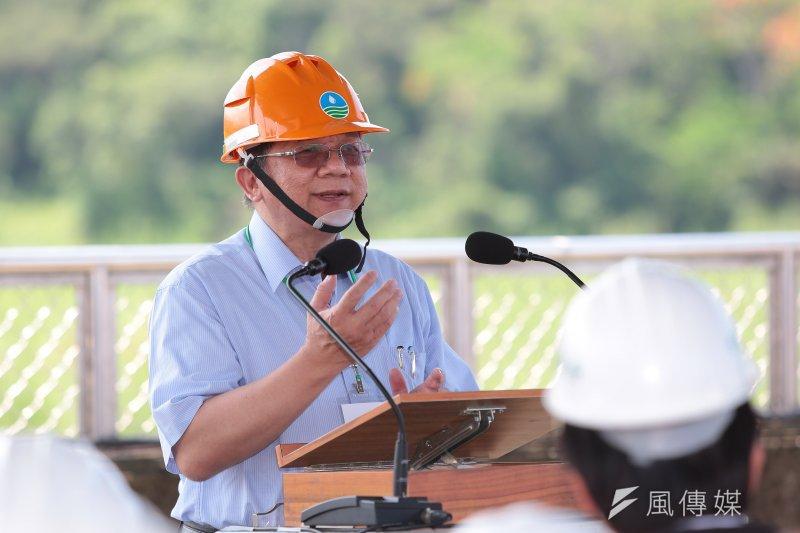經濟部長李世光回應亞泥礦區展延是否需要環評等問題。(資料照片,顏麟宇攝)