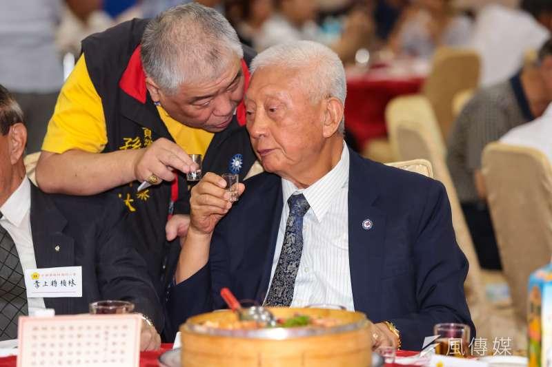 退役上將、前陸軍總司令陳廷寵於9月29日舉辦的「陸軍軍官學校在台復校70周年慶祝大會」上,喊出「我是中國人,是驕傲的象徵」,引發各界兩極熱議。(資料照,顏麟宇攝)