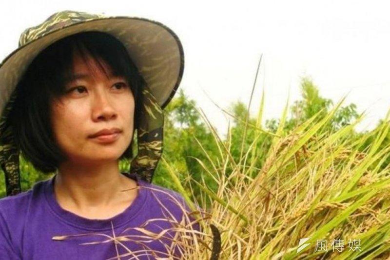 詩人吳晟之女、農運作家吳音寧,確認將出任台北農產公司總經理。(資料照,取自齊東詩社臉書)