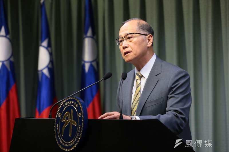 針對台星雙方的軍事交流「星光部隊」是否生變,外交部長李大維表示「一切照常、照舊」。(資料照,顏麟宇攝)
