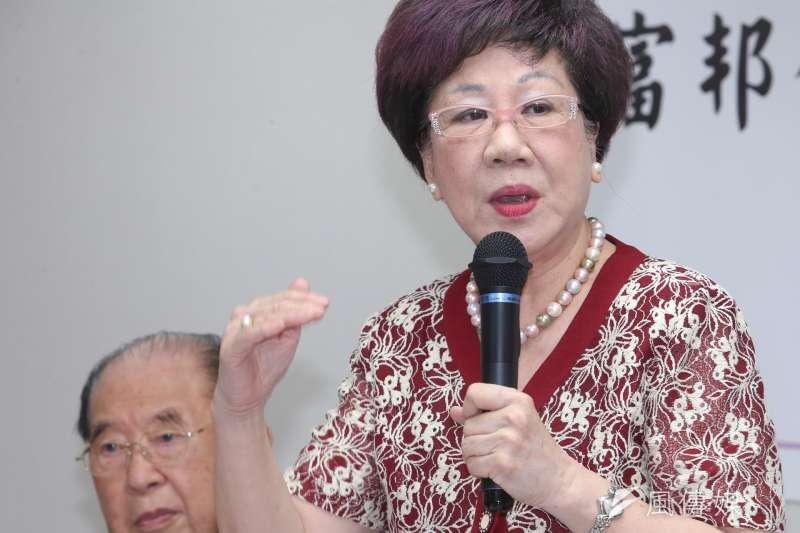 針對國安局私菸案,前副總統呂秀蓮(見圖)在臉書上砲轟「真是國之大恥!」(資料照,陳明仁攝)