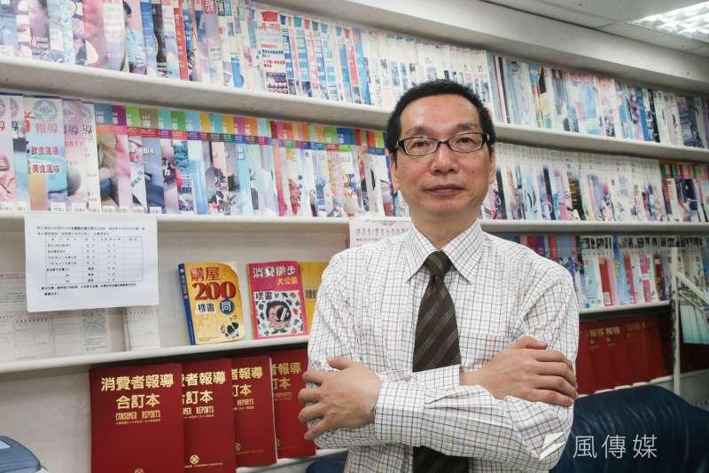 20170615消費者文教基金會董事長游開雄專訪(陳明仁攝)