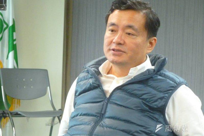 民進黨秘書長洪耀福直言,台灣作為主權國家,對於什麼人來台,當然有審查的權利,洪更嗆「不友善的人,為什麼還要讓他來?」(顏振凱攝)