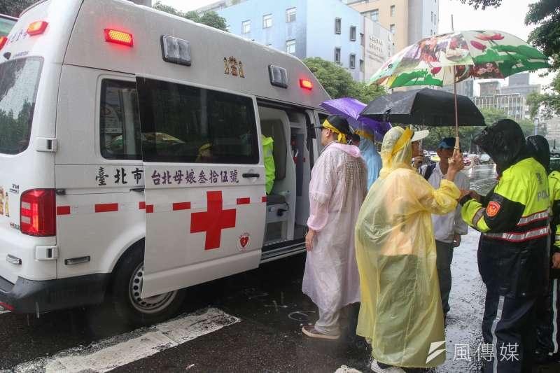 台灣新冠肺炎確診者近日死亡率大幅增加。示意圖。(資料照,陳明仁攝)
