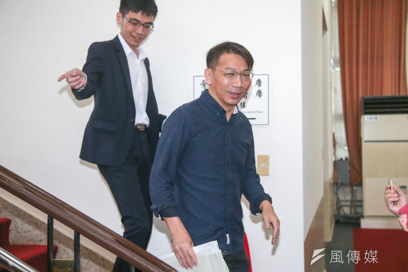 針對台巴斷交,時代力量立委徐永明表示,希望以台灣名義重返聯合國。(陳明仁攝)
