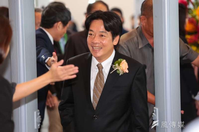 筆者針對台南市長賴清德施政提出幾點個人觀察,圖為台南市長賴清德。(資料照,顏麟宇攝)