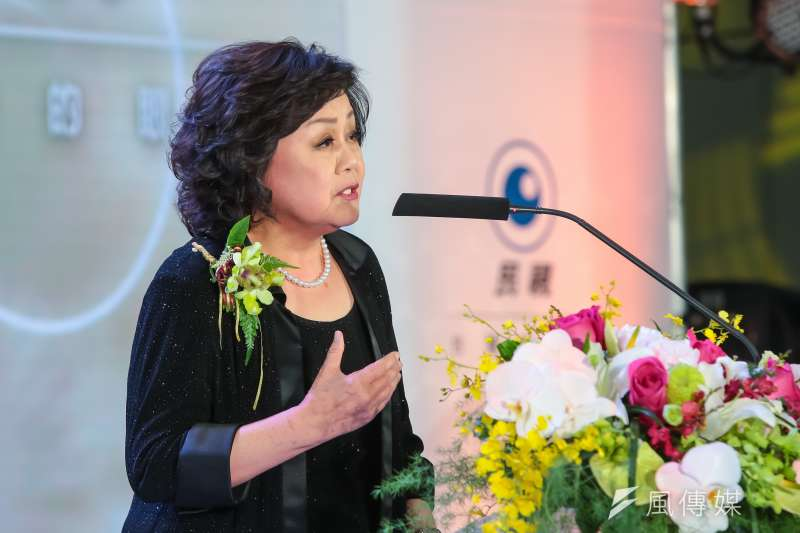 20170616-民視總經理王明玉16日出席「民視20周年系列活動」。(顏麟宇攝)