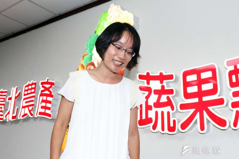 台北農產運銷公司發聲明表示總經理吳音寧適任。(資料照片,蘇仲泓攝)