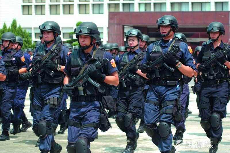 普通大學也能考警察特考,降低了警察大學的吸引力。(林瑞慶攝)