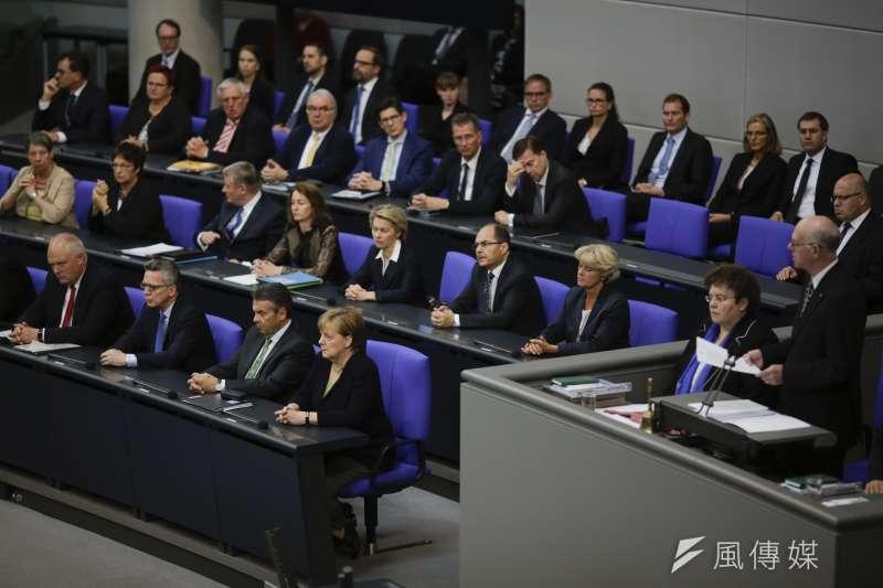 德國國會下議院「聯邦議院」(Bundestag)(資料照.AP)