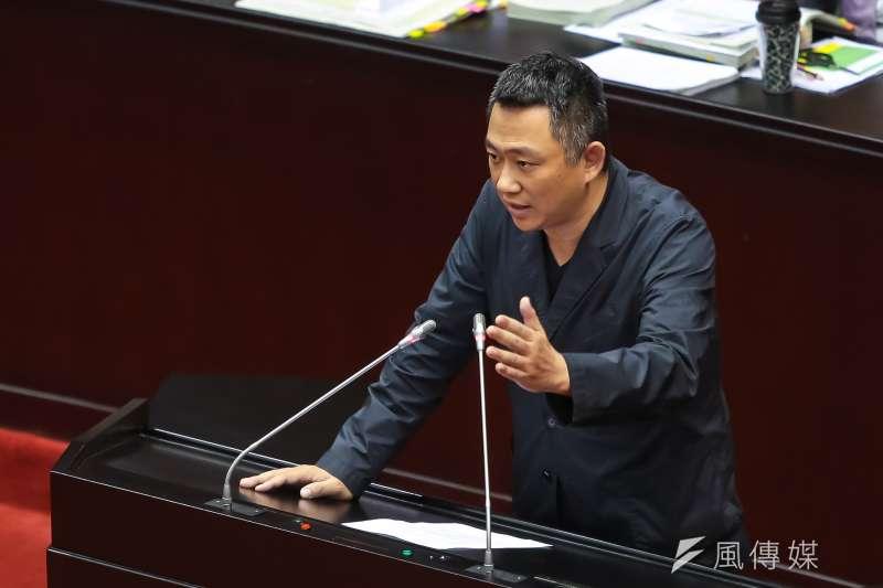 國民黨立委楊鎮浯年前透露有意參選金門縣長。(顏麟宇攝)