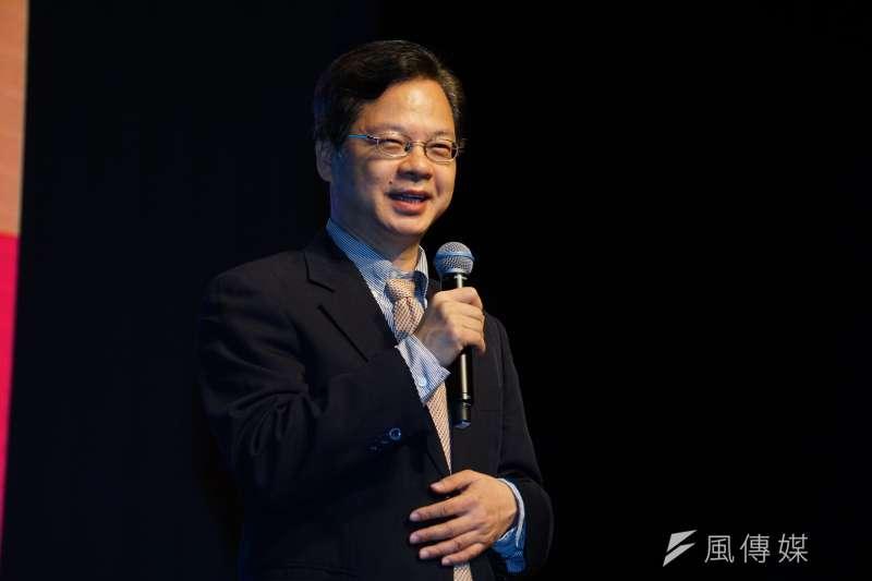 國發會副主委龔明鑫接受慰留,但轉任經濟部次長。(盧逸峰攝)