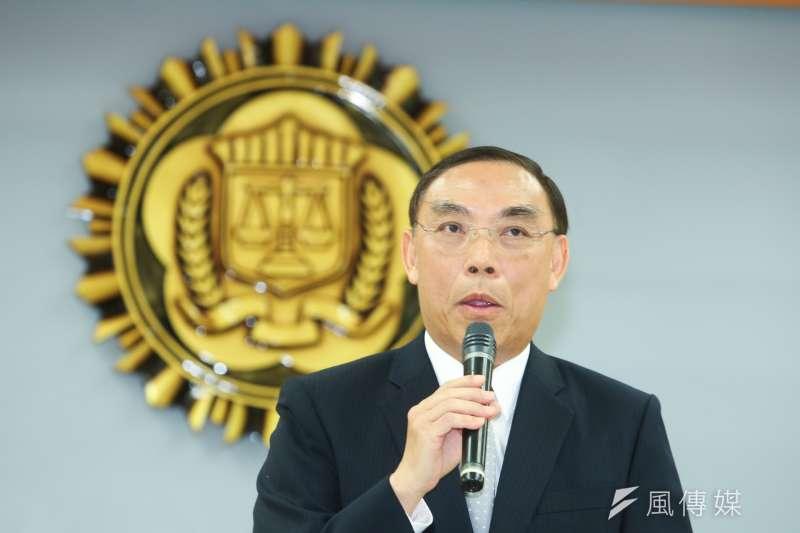 即將接任法務部長的調查局局長蔡清祥,係檢察官出身,對執行死刑或者不會有太多猶豫。(陳明仁攝)