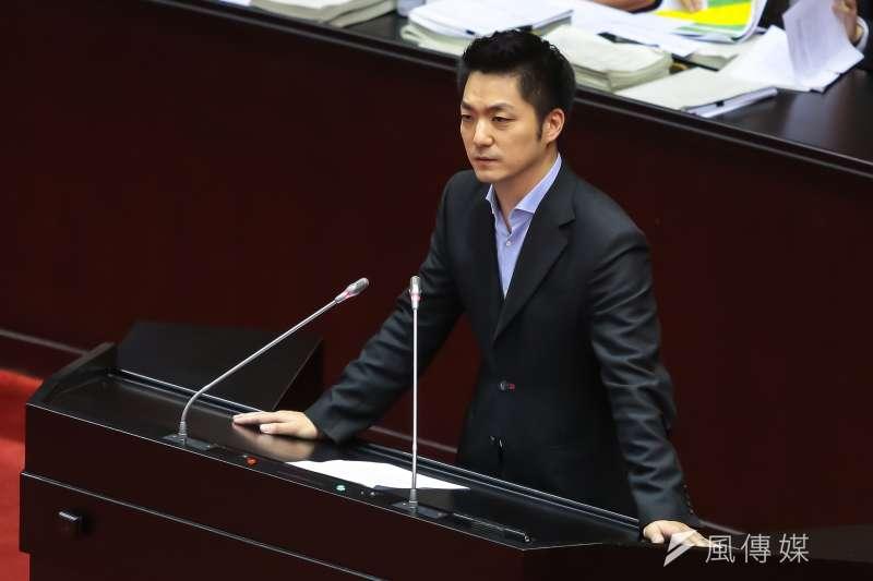 作者認為,如果過早地排除蔣萬安,尤其是因民進黨點了他的名字就對其不看好是不正確的。(資料照,顏麟宇攝)