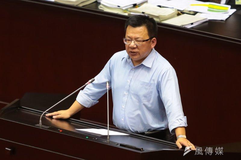 民進黨立委李俊俋。(顏麟宇攝)