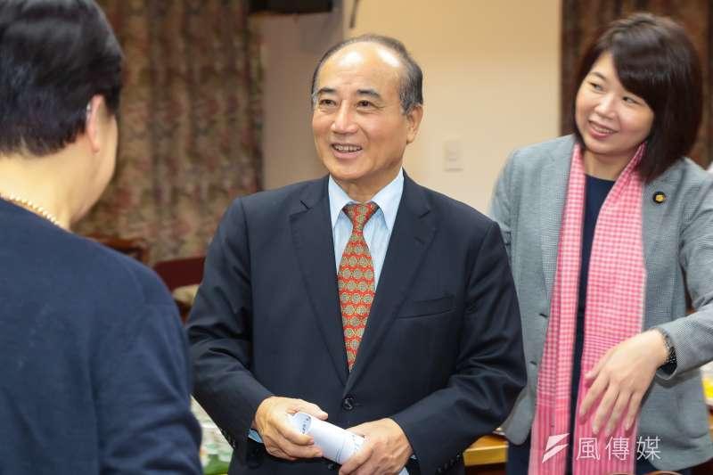 前立法院長王金平談到過去「馬王政爭」,他表示,自己是中國國民黨員,當時黨內要取消他的黨員資格,所以他必須維護自己的權利。(資料照,顏麟宇攝)