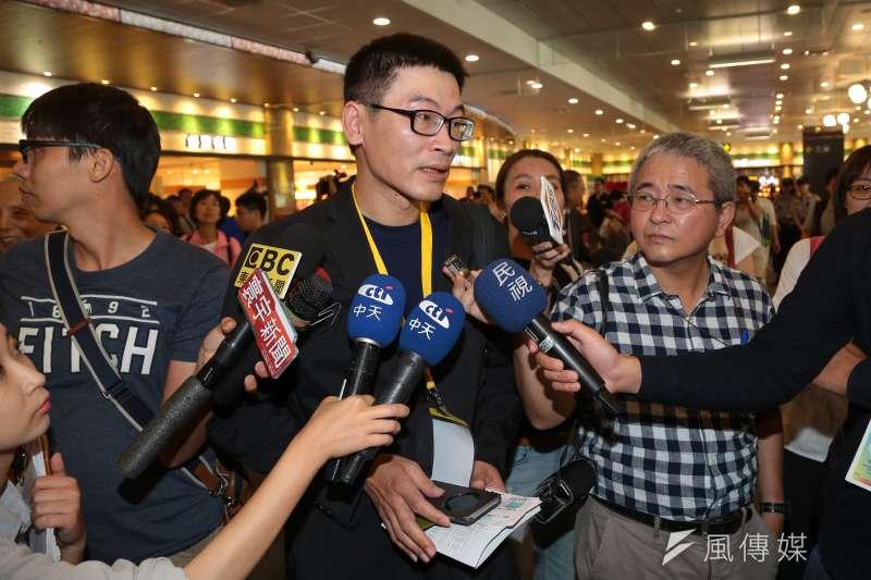 新北市議員梁文傑今(3)日接受廣播專訪直言,如果中央黨部主張禮讓柯文哲,必須有強而有力的理由。(資料照,顏麟宇攝)