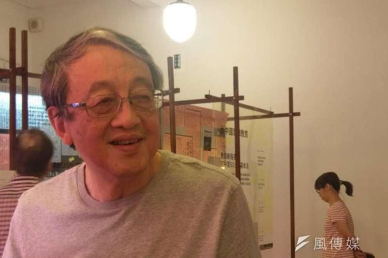 20170701-知名中共黨史研究者林保華。(施孝衡攝)