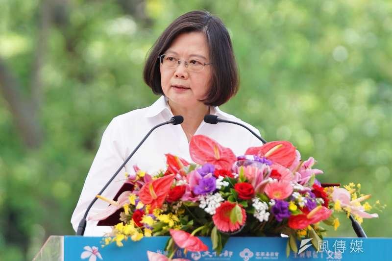 20170701-總統蔡英文參加中華文化總會活動。(盧逸峰攝)