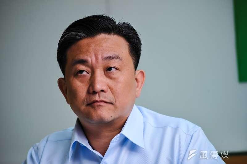 20170703-台灣世代智庫記者會,立委王定宇。(甘岱民攝)