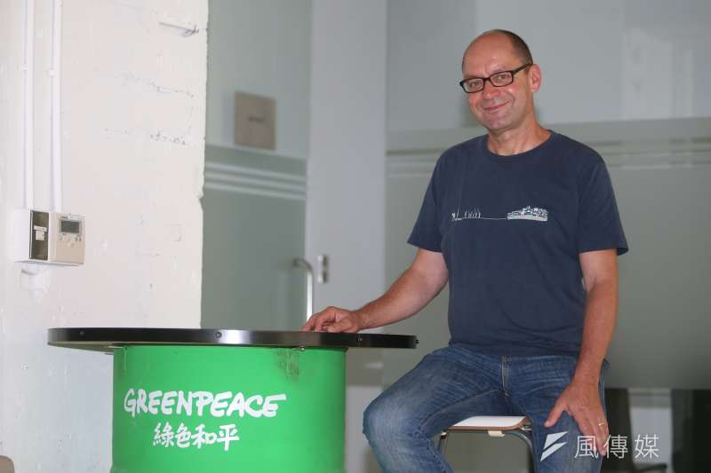 20170704-綠色和平能源合作社(Greenpeace Energy)政策溝通長Marcel Keiffenheim 專訪。綠色和平能源合作社.台北市基地(Greenpeace Energy)(陳明仁攝)