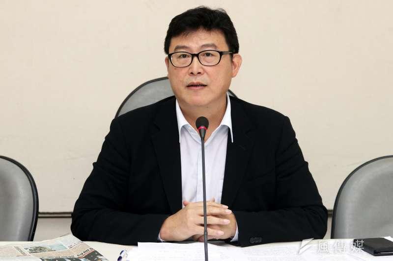 針對綠委提案,2018台北市長選戰時,民進黨應該要推自己人,民進黨立委姚文智對此表示,覺得感謝,這是從政同志大家有志一同的想法。(資料照,蘇仲泓攝)