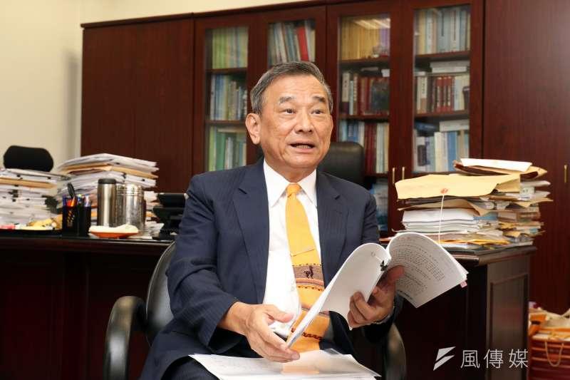 20170706-專訪法務部政務次長陳明堂。(蘇仲泓攝)